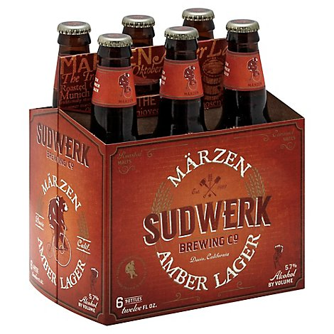Sudwerk Marzen Beer Bottles - 6-12 Fl. Oz.