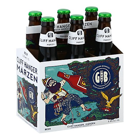 Gordon Biersch Marzen Beer Bottles - 6-12 Fl. Oz.
