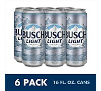 Busch Light Beer Can - 6-16 Fl. Oz.