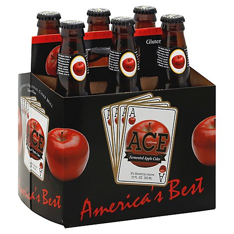 ACE Apple Cider Bottles - 6-12 Fl. Oz.