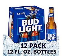 Bud Light Beer Bottle Longneck - 12-12 Fl. Oz.