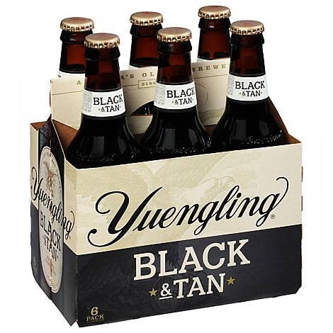 Yuengling Original Black & Tan Beer Bottles - 6-12 Fl. Oz.