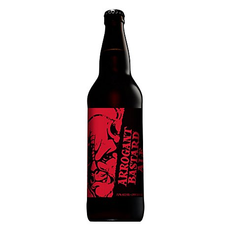Stone Brewing Arrogant Ale Beer Bottle - 22 Fl. Oz.