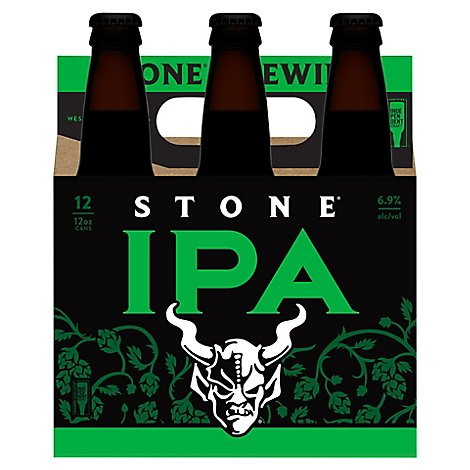 Stone Brewing India Pale Ale Beer Bottles - 6-12 Fl. Oz.