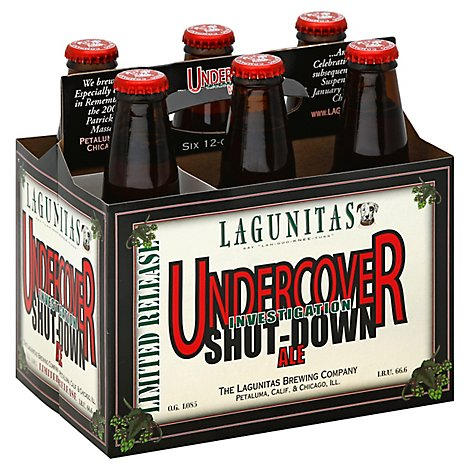 Lagunitas Beer Sucks Brown Shugga Substitute Bottle - 6-12 Fl. Oz.