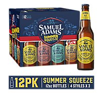 Samuel Adams Craft Beer Seasonal Winter Classics Variety Pack Bottles - 12-12 Fl. Oz.