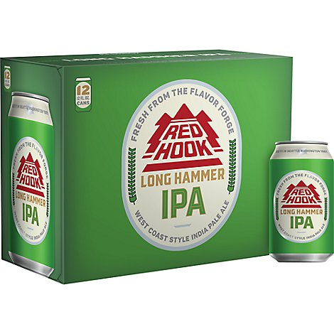 Redhook Long Hammer India Pale Ale Beer Bottles - 12-12 Fl. Oz.