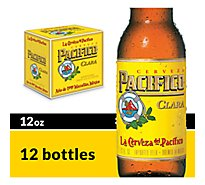 Pacifico Clara Mexican Lager Beer Bottles 4.4% ABV - 12-12 Fl. Oz.