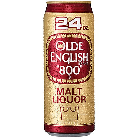 Olde English 800 Malt Liquor Can 5.9% ABV - 24 Fl. Oz.
