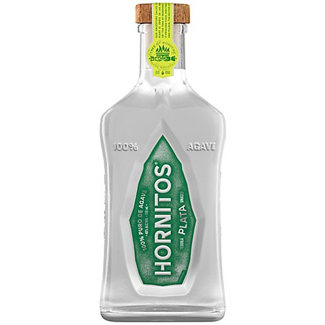 Hornitos Tequila Plata 80 Proof - 750 Ml