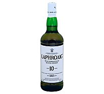 Laphroaig Quarter Cask islay Single Malt Scotch Whisky 10 Year 86 Proof - 750 Ml