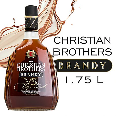The Christian Brothers Brandy VS Very Smooth 80 Proof - 1.75 Liter