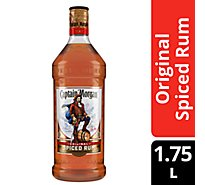 Captain Morgan Rum Spiced Original 70 Proof - 1.75 Liter