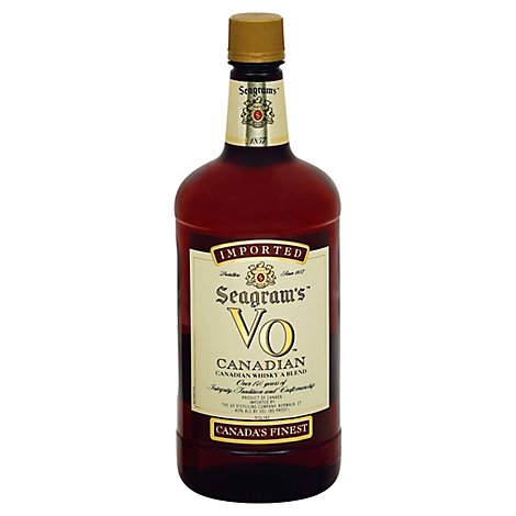 Seagrams Whisky Canadian 80 Proof - 1.75 Liter