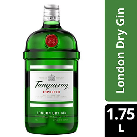 Tanqueray London Dry Gin 94.6 Proof - 1.75 Liter