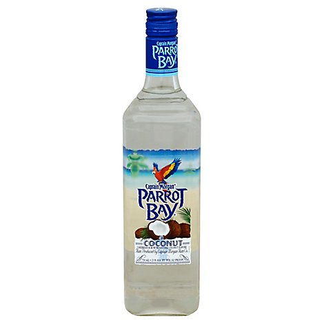 Captain Morgan Parrot Bay Coconut Puerto Rican Rum 42 Proof - 750 Ml
