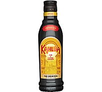 Kahlua Liqueur Rum And Coffee Caramel Color Added 40 Proof - 375 Ml