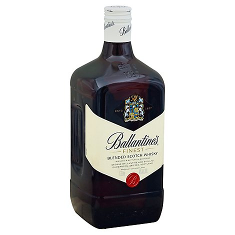 Ballantines Finest Scotch Whisky 80 Proof - 1.75 Liter