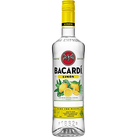 Bacardi Rum With Natural Flavor Limon - 750 Ml