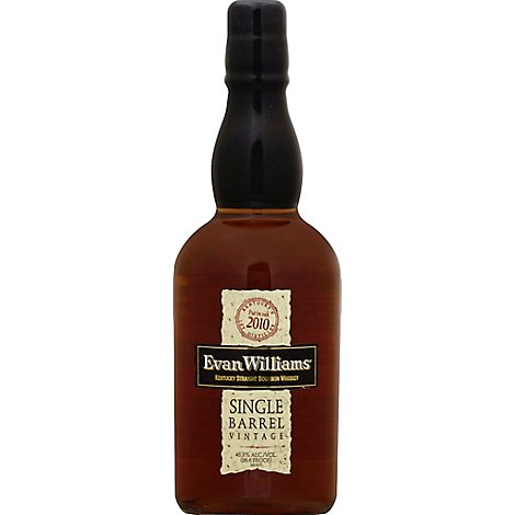 Evan Williams Kentucky Straight Bourbon Whiskey 86.6 Proof - 750 Ml
