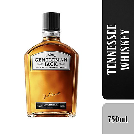 Jack Daniels Whiskey Tennessee Gentleman Jack 80 Proof - 750 Ml