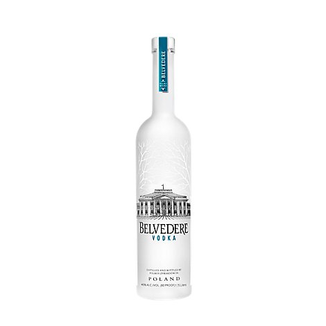 Belvedere Vodka 80 Proof - 1.75 Liter