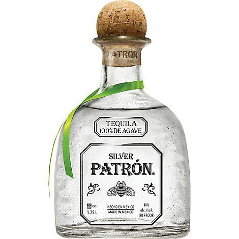 Patron Tequila Silver 80 Proof - 1.75 Liter