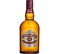 Chivas Regal Whisky Scotch 12 Year 80 Proof - 750 Ml