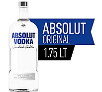 Absolut Vodka 80 Proof - 1.75 Liter