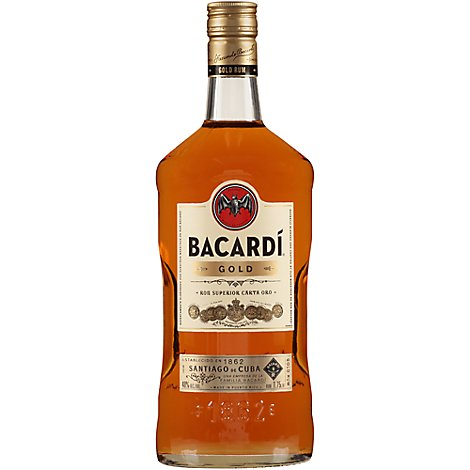 Bacardi Rum Gold 80 Proof - 1.75 Liter