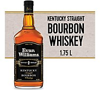 Evan Williams Whiskey Bourbon Kentucky Straight 86 Proof - 1.75 Liter