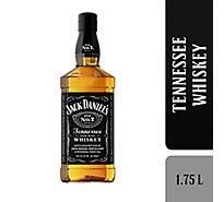 Jack Daniels Whiskey Tennessee Old No.7 Sour Mash 80 Proof - 1.75 Liter