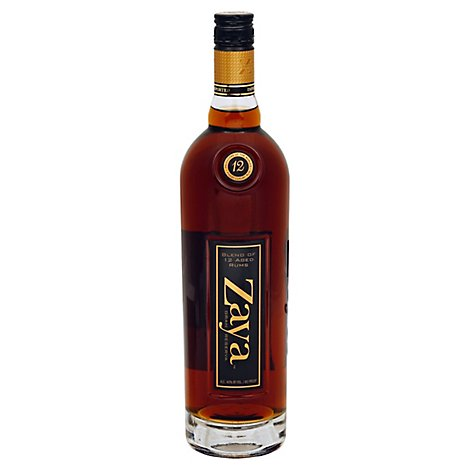 Zaya Gran Reserva Rum 80 Proof - 750 Ml