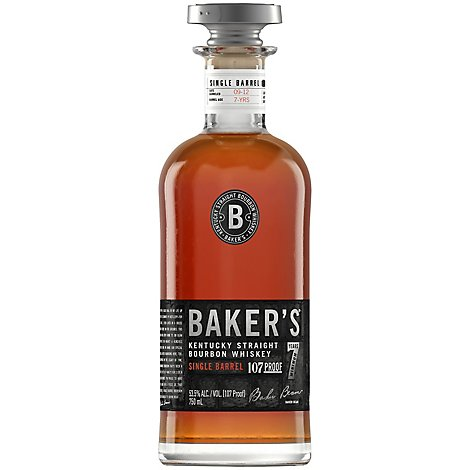 Bakers Kentucky Straight Bourbon Whiskey 107 Proof - 750 Ml