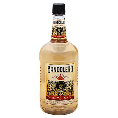 Bandolero Tequila Gold 80 Proof - 1.75 Liter