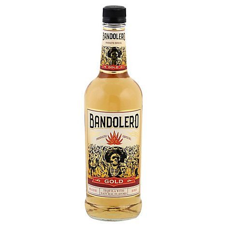 Bandolero Tequila Gold 80 Proof - 750 Ml