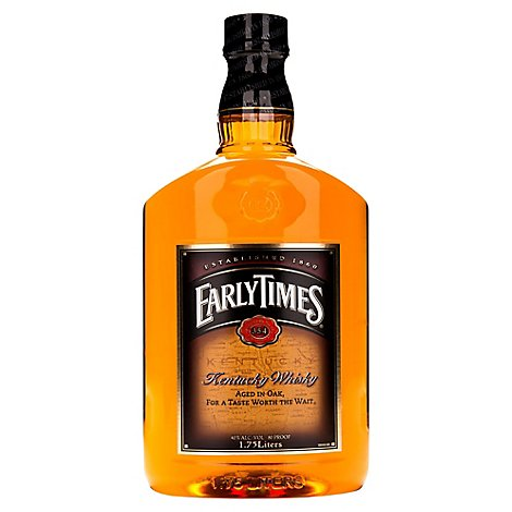 Early Times Whisky Kentucky 80 Proof - 1.75 Liter