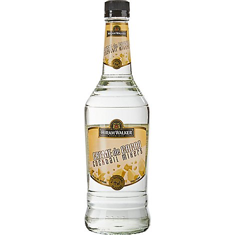 Hiram Walker Liqueur Creme De Cacao 30 Proof - 750 Ml