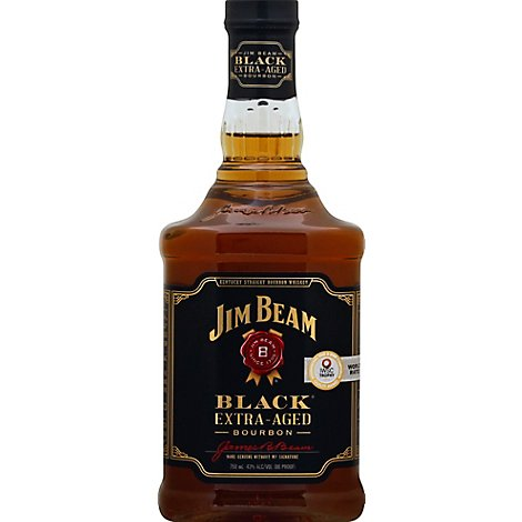 Jim Beam Black Bourbon Extra-Aged 86 Proof - 750 Ml