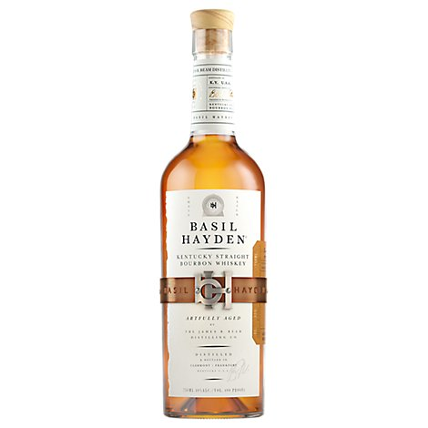 Basil Haydens Kentucky Straight Bourbon Whiskey 80 Proof - 750 Ml
