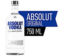 Absolut Vodka Original 80 Proof - 750 Ml