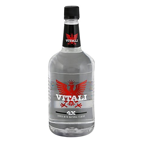 VITALI Vodka Premium 80 Proof - 1.75 Liter
