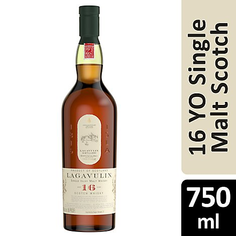 Lagavulin Single Malt Scotch Whisky 86 Proof - 750 Ml