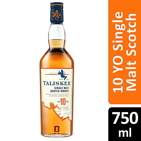 Talisker Single Malt Scotch Whisky 12 Year 91 Proof - 750 Ml