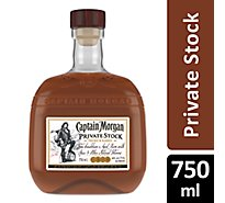 Captain Morgan Rum Private Stock 80 Proof - 750 Ml