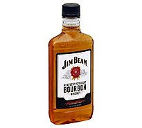 Jim Beam Whiskey Bourbon Kentucky Straight 80 Proof - 375 Ml