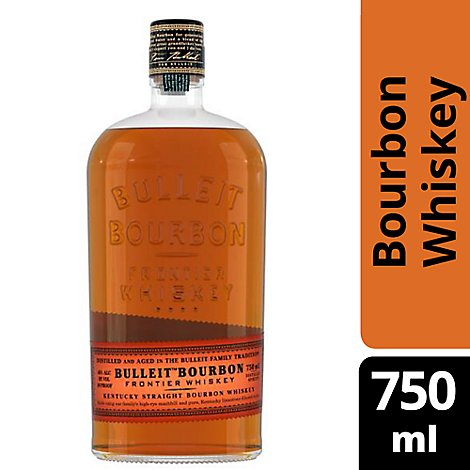 Bulleit Whiskey Kentucky Straight Bourbon 90 Proof - 750 Ml
