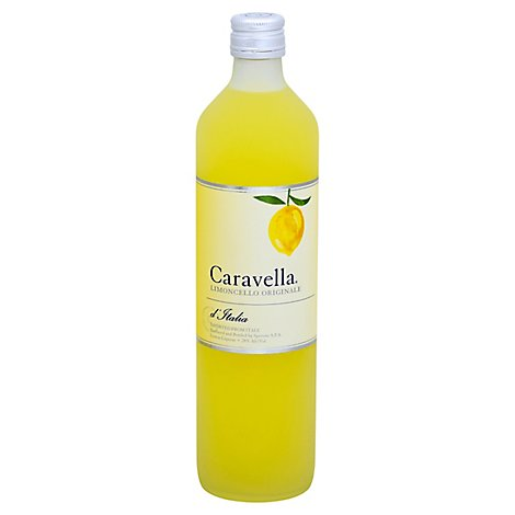 Caravella Limoncello Liqueur 56 Proof - 750 Ml