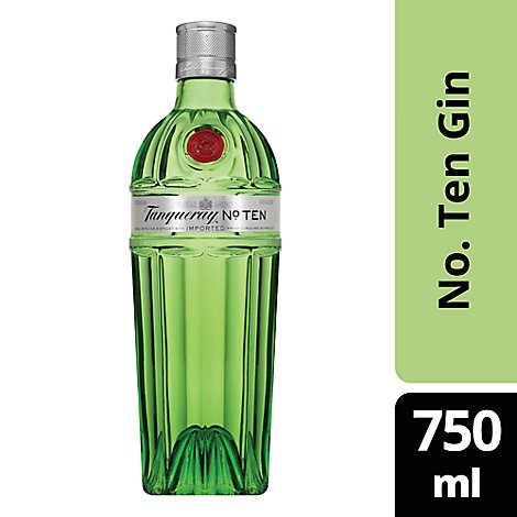 Tanqueray No 10 Gin 94.6 Proof - 750 Ml