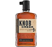 Knob Creek Whiskey Bourbon Kentucky Straight 100 Proof - 750 Ml